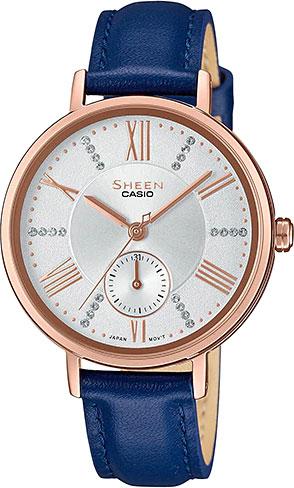 Женские часы Casio SHE-3066PGL-7A женские часы casio lth 1060l 7a