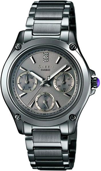 где купить Женские часы Casio SHE-3502BD-8A по лучшей цене