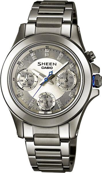 где купить Женские часы Casio SHE-3503D-8A по лучшей цене