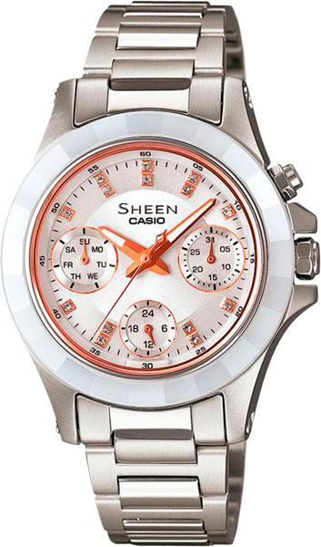 Женские часы Casio SHE-3503SG-7A женские часы casio lth 1060l 7a