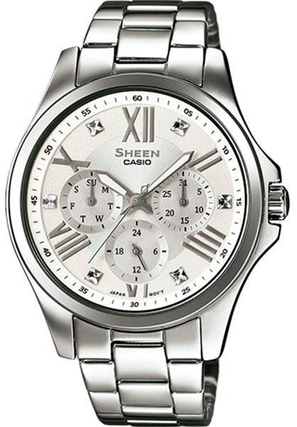 2369907733b8 Наручные часы Casio Sheen SHE-3806D-7A — купить в интернет-магазине ...