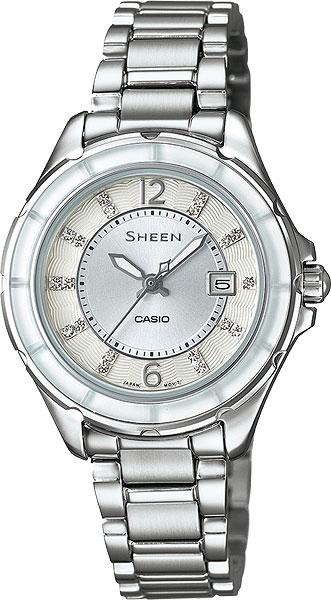 Женские часы Casio SHE-4045D-7A casio sheen multi hand shn 3013d 7a