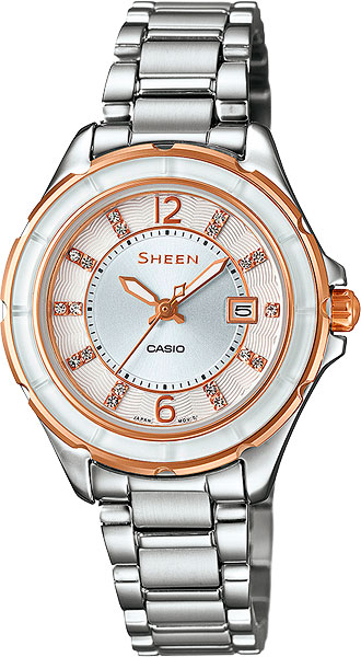 Женские часы Casio SHE-4045SG-7A casio sheen she 4045sg 7a