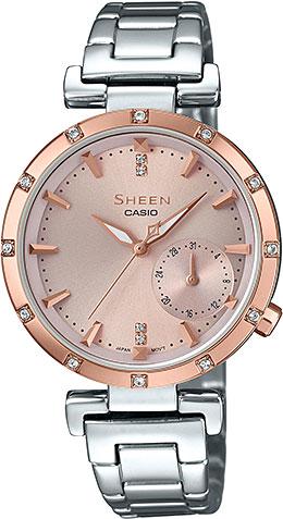Женские часы Casio SHE-4051SG-4A цены