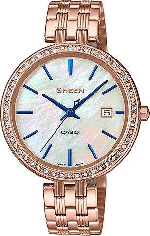 Фото «Японские наручные часы Casio Sheen SHE-4052PG-2A»
