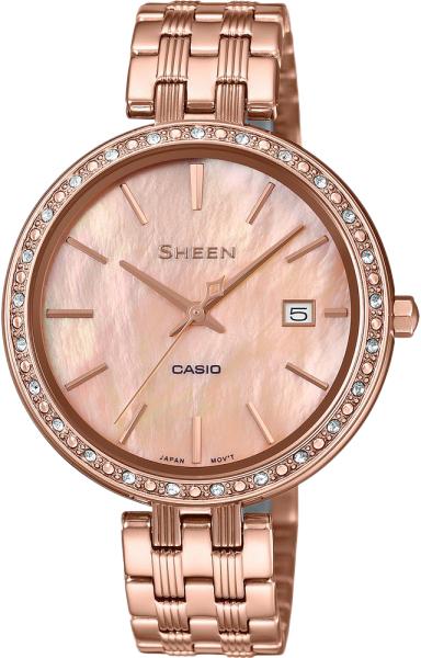 Женские часы Casio SHE-4052PG-4A цена и фото