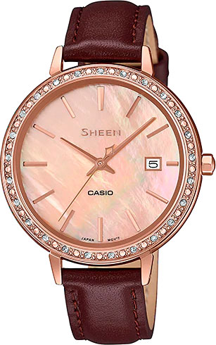Женские часы Casio SHE-4052PGL-4A casio she 3511d 4a