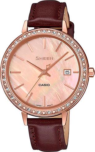 Женские часы Casio SHE-4052PGL-4A цена и фото