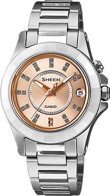 Женские часы Casio SHE-4509SG-4A цена и фото