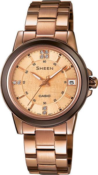 Женские часы Casio SHE-4512BR-9A casio casio she 4512br 9a