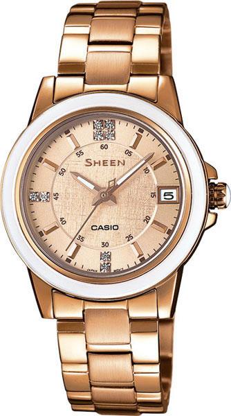 Женские часы Casio SHE-4512PG-9A все цены