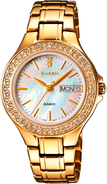 Женские часы Casio SHE-4800G-7A все цены