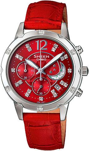 Женские часы Casio SHE-5017L-4A casio she 5017l 4a