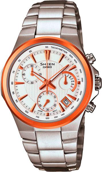Женские часы Casio SHE-5019SG-7A casio sheen multi hand shn 3013d 7a
