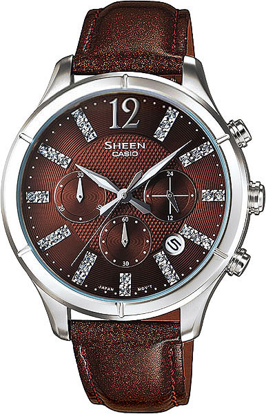Женские часы Casio SHE-5020L-5A casio sheen multi hand shn 3013d 7a