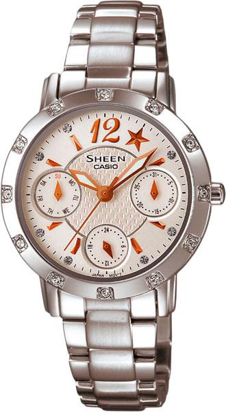 casio женские японские наручные часы shn 3011d 4a Женские часы Casio SHN-3020D-7A