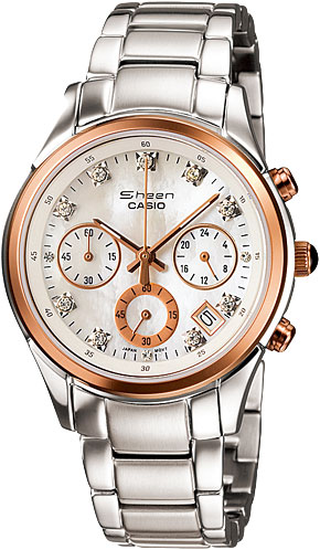 casio женские японские наручные часы shn 3011d 4a Женские часы Casio SHN-5003PS-7A
