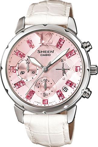 casio женские японские наручные часы shn 3011d 4a Женские часы Casio SHN-5010L-4A2