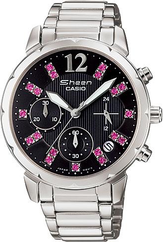 casio женские японские наручные часы shn 3011d 4a Женские часы Casio SHN-5012D-1A