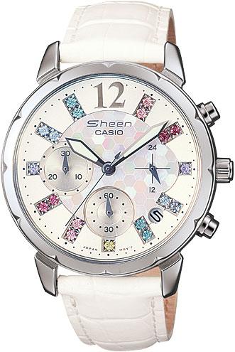 casio женские японские наручные часы shn 3011d 4a Женские часы Casio SHN-5012LP-7A