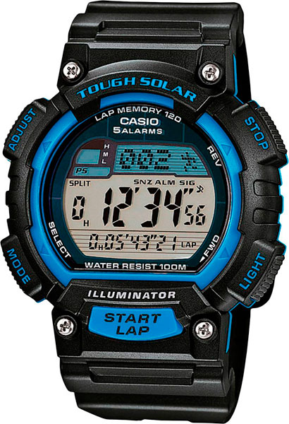 Мужские часы Casio STL-S100H-2A часы casio collection stl s100h 1a black