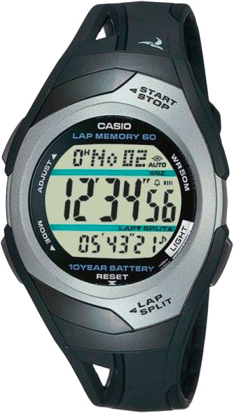 Мужские часы Casio STR-300C-1V casio str 300c 1v