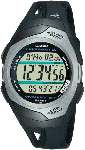 Мужские часы Casio STR-300C-1V цена 2017