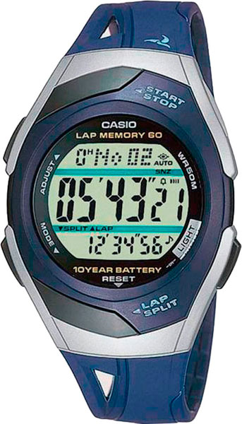 Мужские часы Casio STR-300C-2 casio str 300c 1v