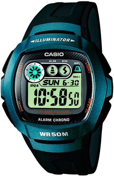 Мужские часы Casio W-210-1B