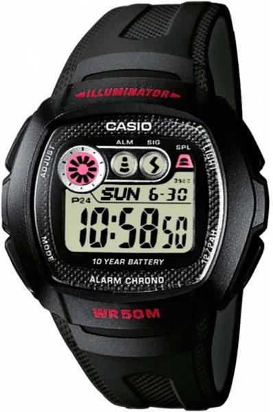 Мужские часы Casio W-210-1C все цены