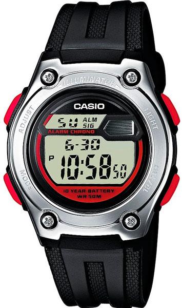 Мужские часы Casio W-211-1B