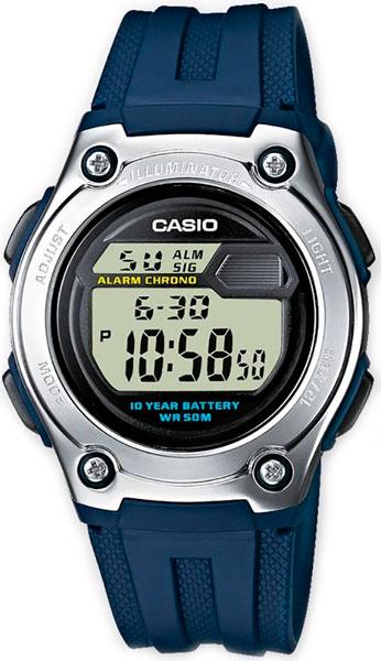 Мужские часы Casio W-211-2A все цены