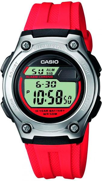 Мужские часы Casio W-211-4A цена