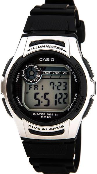 Мужские часы Casio W-213-1A casio w 213 1a