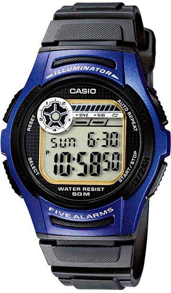 Мужские часы Casio W-213-2A все цены