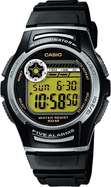 Мужские часы Casio W-213-9A цена