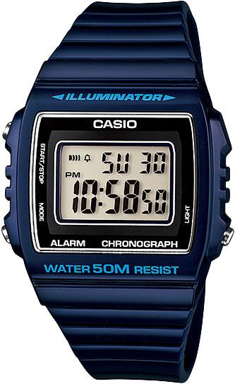 Мужские часы Casio W-215H-2A цена и фото