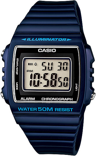 Мужские часы Casio W-215H-2A casio w 215h 7a2