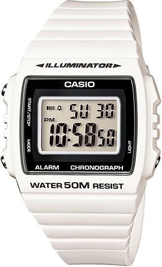 Мужские часы Casio W-215H-7A casio sheen multi hand shn 3013d 7a
