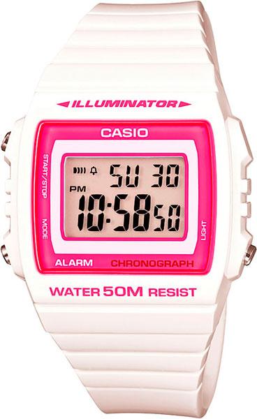 Купить Наручные часы W-215H-7A2  Мужские японские наручные часы в коллекции Standard Casio