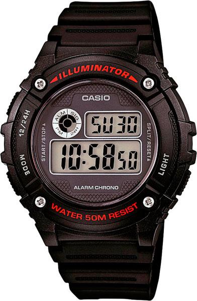 Мужские часы Casio W-216H-1A casio w 213 1a