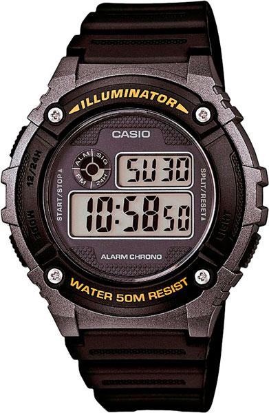 Мужские часы Casio W-216H-1B