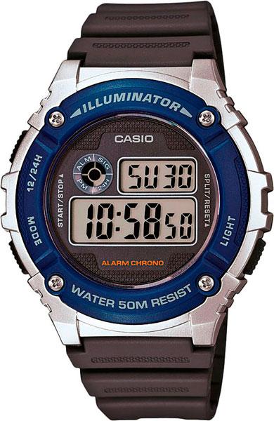 Мужские часы Casio W-216H-2A все цены