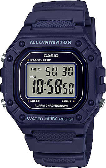 лучшая цена Мужские часы Casio W-218H-2A