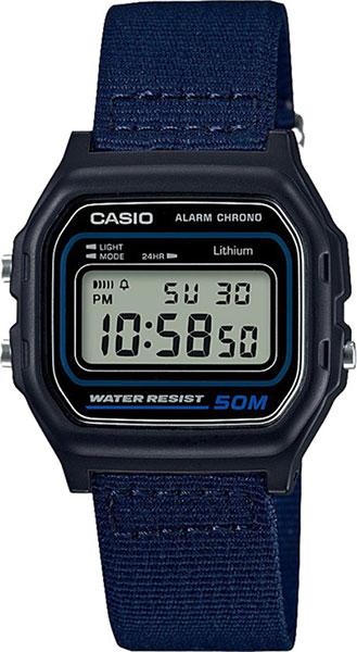 Мужские часы Casio W-59B-2A casio w 59b 1a