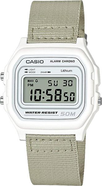 Мужские часы Casio W-59B-7A casio sheen multi hand shn 3013d 7a