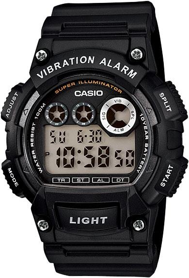 Мужские часы Casio W-735H-1A casio w 735h 1a3