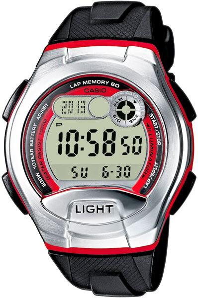 Мужские часы Casio W-752-4B
