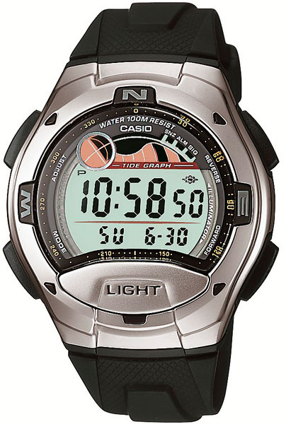Мужские часы Casio W-753-1A