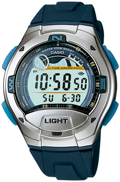 Мужские часы Casio W-753-2A casio w 753 1a